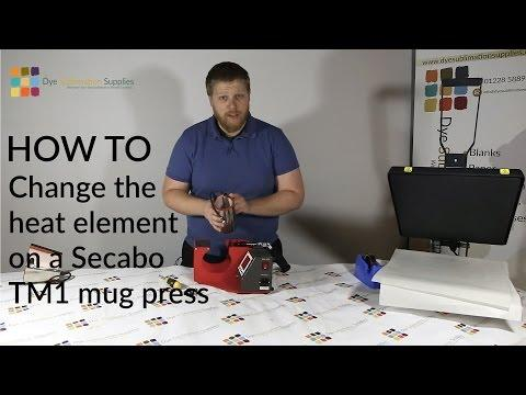 How To: Change The Heat Element On A Secabo TM-1 Mug Heat Press For Dye Sublimation