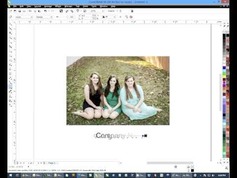 Creating A Watermark Using CorelDRAW: Dye Sublimation Imprinting