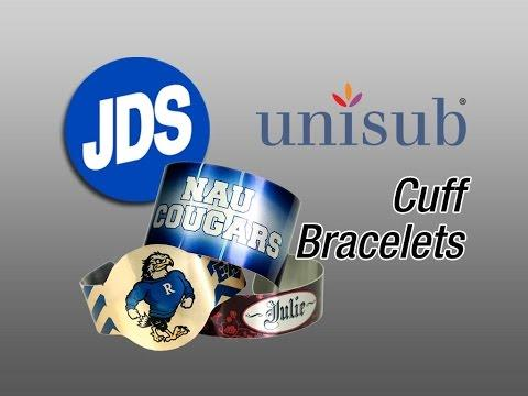 How To Sublimate Cuff Bracelets