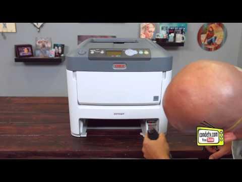 Oki White Toner Printers - C711wt - Maintenance -