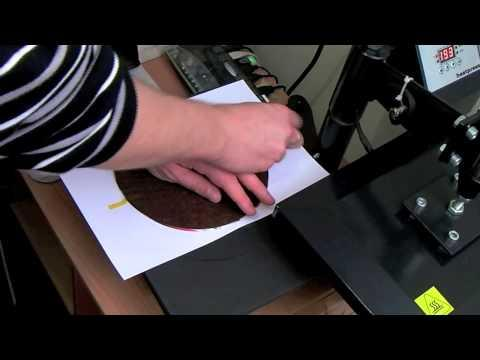 Sublimation Wooden Clock Training Video