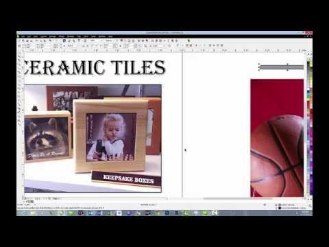 CorelDRAW Tips: Ceramic Tiles Dye Sublimation Graphics