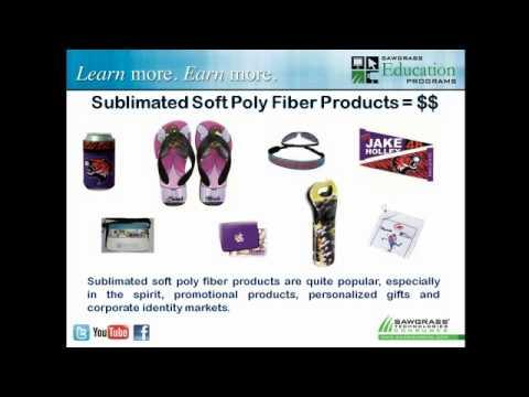 Webcast Trailer - Sublimating Soft Poly-Fiber Products