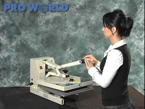 Mighty Press 15 X 15 Manual Heat Press - Pro World Inc.