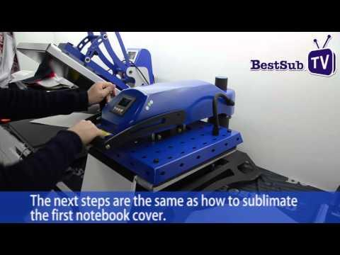 How To Sublimate Notebooks From BestSub