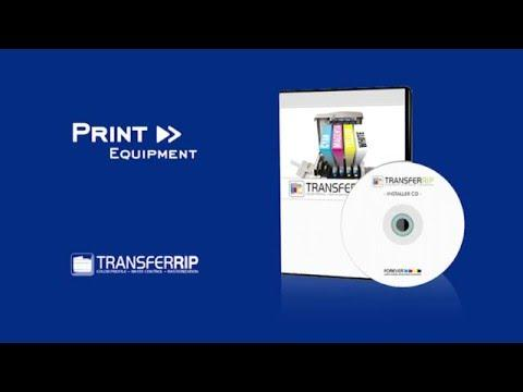 Installation And Startup TransferRIP Software For FOREVER Transfer Paper