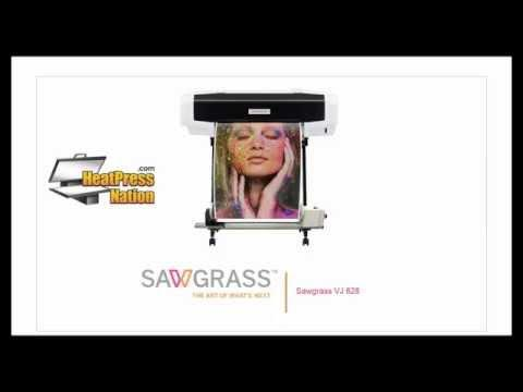 Sublimation Printing Webinar - Sawgrass VJ 628 Printer - HeatPressNation.com