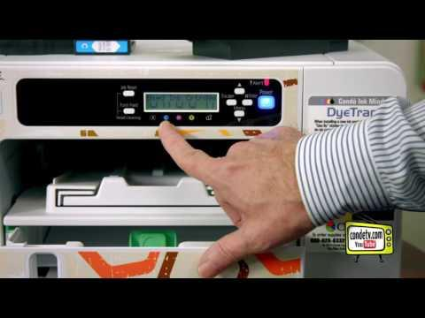 Sawgrass Virtuoso SG 800 And SG 400 Printers - Front Panel Tour