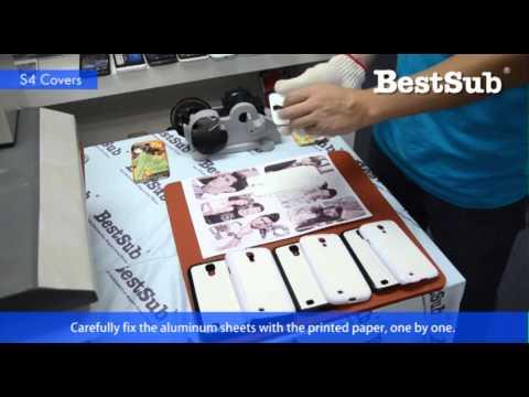 How To Sublimate New Samsung S4 3D Case And Covers From BestSub