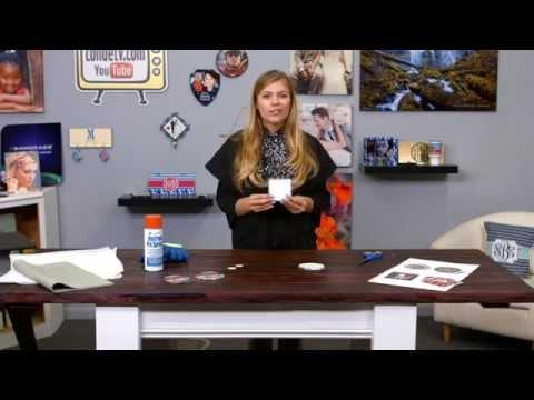 Adding Sublimation Images To The SubliSLATE Coaster From Conde -