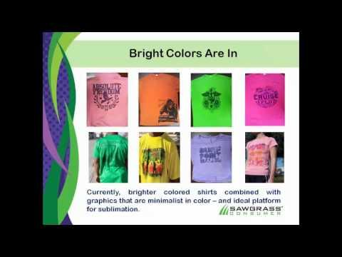 Webcast Trailer - Trends In Apparel Sublimation