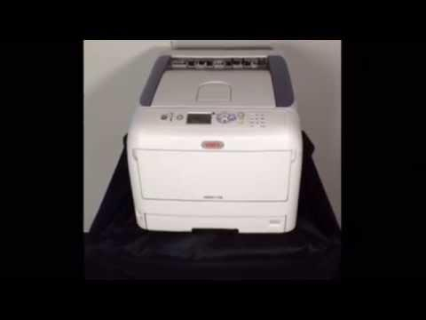 OKI C831-TS CMYK LED Laser Transfer Printer