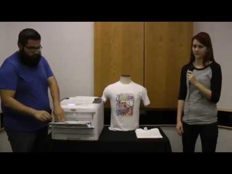OKI C831-TS CMYK LED Printer--T-Shirt Transfer In 60 Seconds