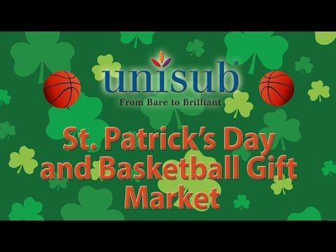 St Patrick's Day And Basketball Gift And Decor Markets