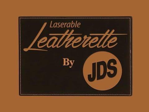 JDS Laserable Leatherette