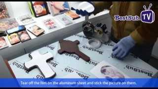 How to sublimate cross plaques from bestsub