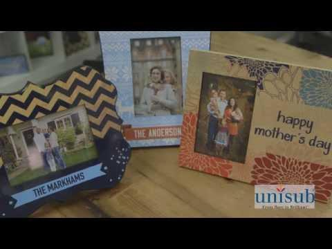 How-to Sublimate Unisub Picture Frames