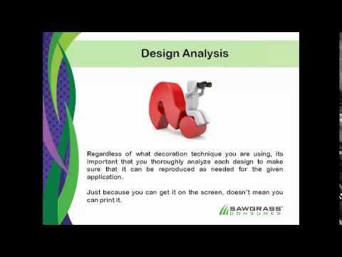 Webcast Trailer - Sublimation Design Analysis Part 1