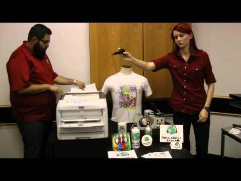 OKI C831-TS LED Laser Transfer Printer Webinar - 05/15/15
