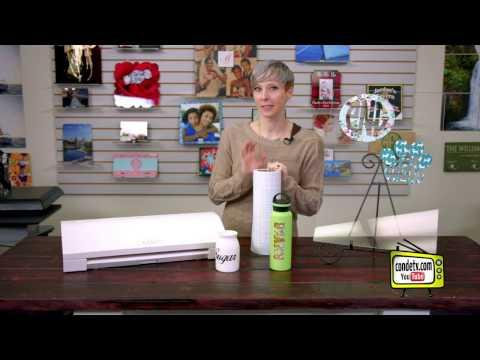 Sublimation - Using Silhouette Cameo And SubliWrap Adhesive -