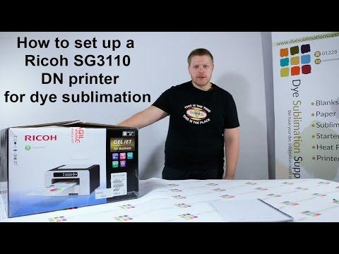 Unbox And Install Your Ricoh Printer For Sublimation Printing